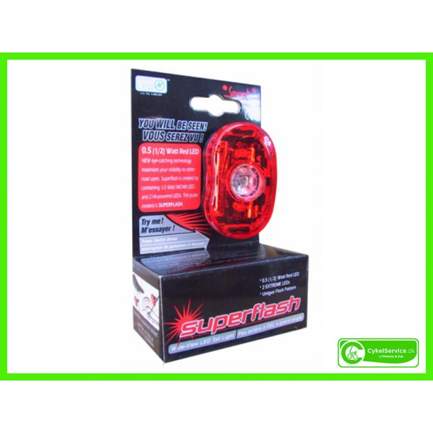 SMART Baglygte SuperFlash RL318R