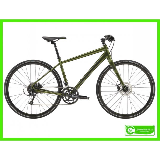 Cannondale Quick 3 Vulcan Green
